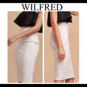 Aritzia Wilfred gray marble skirt size small